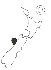 Te Waonui on NZ Map