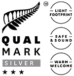 Silver 3 Star Qualmark Rating