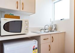 Motel Unit Kitchenette