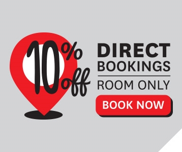 10% Off Direct Bookings