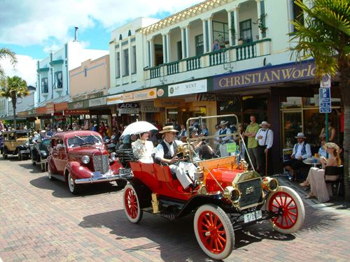 A Vintage Day Out in Napier