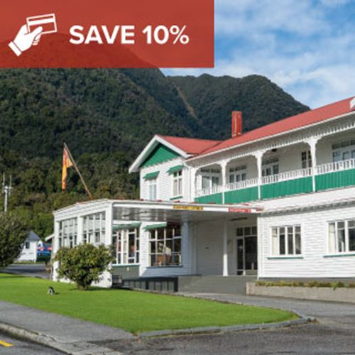 Pay in Advance and Save<br><strong>Fox Glacier</strong>