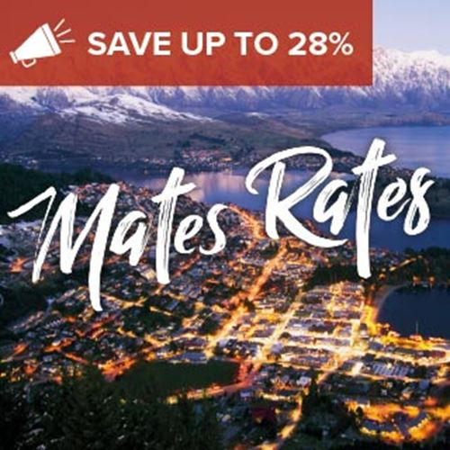 Queenstown Hotel<br><strong>Stay Kiwi Sale</strong>