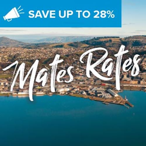 Dunedin Hotel<br><strong>Stay Kiwi Sale</strong>