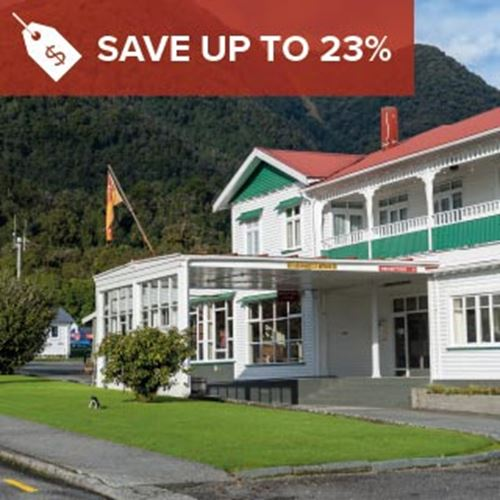 Heartland Hotel Fox Glacier<br><strong>Stay Longer and Save</strong>