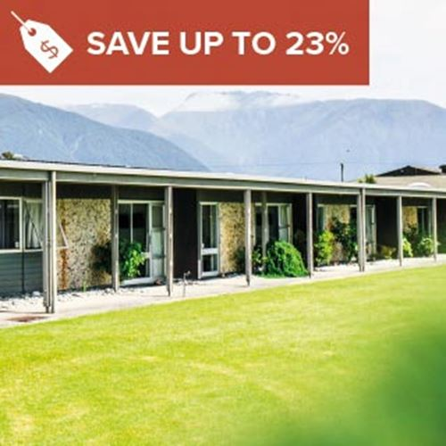Heartland Hotel Haast<br><strong>Stay Longer and Save</strong>