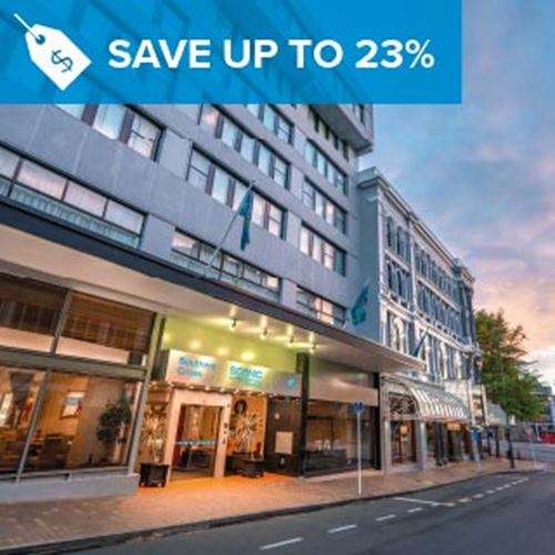 Dunedin CBD Hotel<br><strong>Stay Longer and Save</strong>