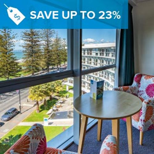 Napier Hotel<br><strong>Stay Longer and Save</strong>