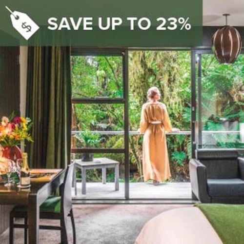 Luxury Franz Josef Retreat<br><strong>Stay Longer and Save</strong>