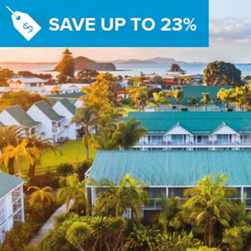Scenic Hotel Bay of Islands<br><strong>Stay Longer and Save</strong>
